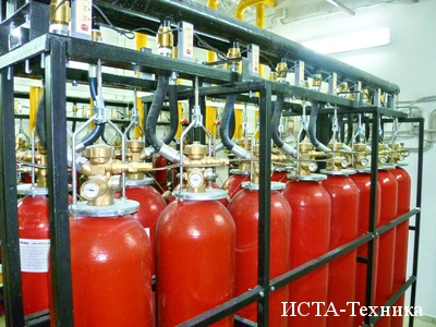 Газовое огнетушащее вещество хладон 227