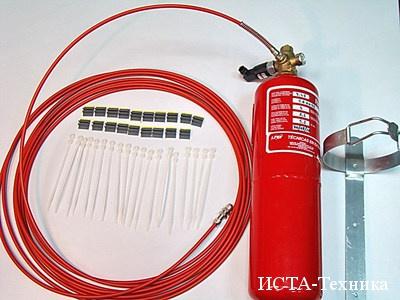 Пенное и газовое пожаротушение